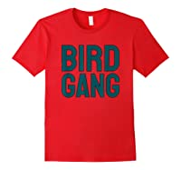 Bird Gang Eagle Sports Tailgate Party Gift Shirts Red