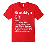 New York Funny City Home Roots Gift Shirts Red