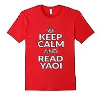 Yaoi Fujoshi Anime Shirts Red