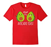 Cute Toast For Trendy Millennials Shirts Red