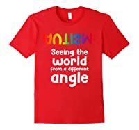 Special Needs Tea Student Gift Autism Awareness Month Shirts Red