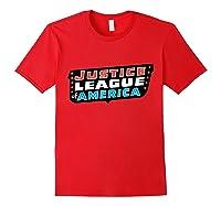 Justice League Logo Jla Classic 01 Shirts Red
