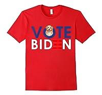My Shih Tzu Want Vote For Joe Biden Funny President Shirts Red