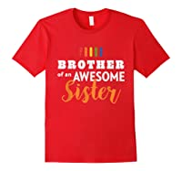 Proud Brother, Gay Pride Lgbt Shirts Red
