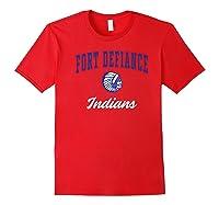 Fort Defiance High School Indians Premium T-shirt Red