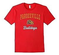 Pardeeville High School Bulldogs Premium T-shirt Red