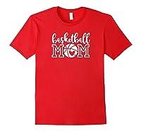 Basketball Mom For Mom | Basketball Mom Premium T-shirt Red