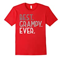 Best Grampy Ever Fathers Day Gifts From Grandchildren Grampy Shirts Red
