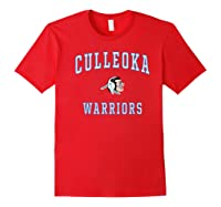 Culleoka High School Warriors Shirts Red