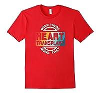 Heart Transplant Organ Recipient Survivor Gift Shirts Red