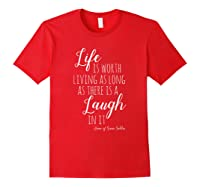 Anne With An E T-shirt, Anne Of Green Gables Quote Shirt T-shirt Red