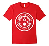 Salem Local Witches Union Est 1692 Halloween Shirts Red