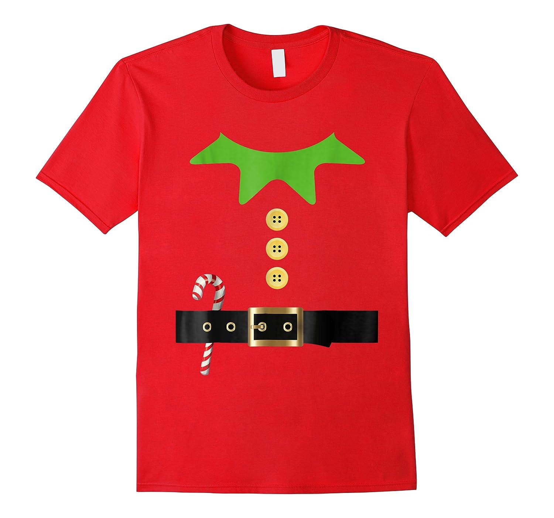 Santa Elf Costume Holiday Christmas Xmas Kids Adult Shirts