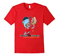 Does It Really Feel Good For The Food Shirts Red