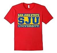 San Jose State 1887 University Apparel Shirts Red