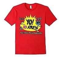Mtv Yo! Raps Shirts Red