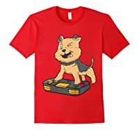 Airedale Terrier Gamer Gaming Videogames Kawaii Gift T-shirt Red