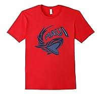 Maui Hawaii Shark Shirts Red
