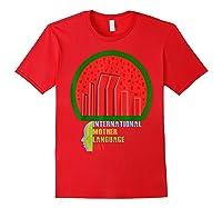 International Mother Language Day Bangladeshi Hero Gift Shirts Red