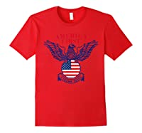 America First Trump 2020 New Shirts Red
