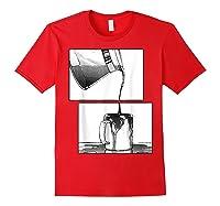 Manga Coffee Break Shirts Red