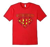 Super Legend 1988 Comic Hero - T-shirt Red