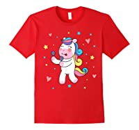 Cute Unicorn, Gift For Unicorn Lover Unicorn Lover Gift Shirts Red