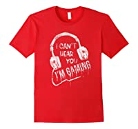 Funny Computer Gaming Gamer Video Game Gift For Shirts Red