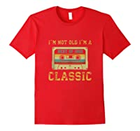 Vintage Cassette I\\\'m Not Old I\\\'m A Classic 1992 27th Tank Top Shirts Red