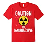 Radiation Therapy Funny Cancer Get Well Soon Gift Survivor T-shirt Red