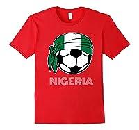 Nigeria Soccer 2019 Super Eagles Fans Kit Football Shirts Red