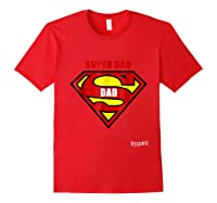 Super Dad By Inspir8 Movet Shirts Red