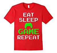 Gaming Console Vintage Shirts Red