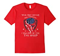 Your First Mistake Was Thinking I Was One Of The Sheep Skull Premium T-shirt Red