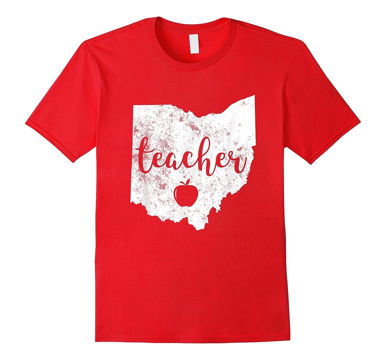 Red For Ed T-shirt Ohio Tea Public Education