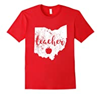Red For Ed T-shirt Ohio Tea Public Education Red