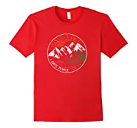 I Hate People Funny Mountain Lover Novelty Shirts Red