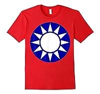 Taiwan Flag Kuomintang Symbol Shirts Red