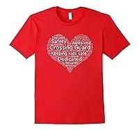 School Crossing Guard Appreciation T Shirt Red