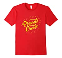 Funny Golf Pito Cheese Shirts Red