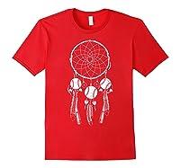 Softball Baseball Dream Cat Shirts Red