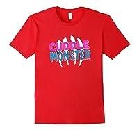 Cuddle Monster Gay Bear Lgbt Gay Pride Shirts Red