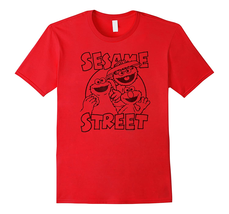 Sesame Street Crunch Characters T Shirt