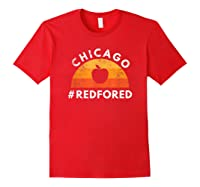 Tea Red For Ed Chicago Public Education T-shirt Red