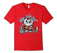 The Big Bang Theory Purr Purr Purr Shirts Red