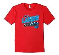 Nascar - Kyle Larson - Dust Storm Premium T-shirt Red
