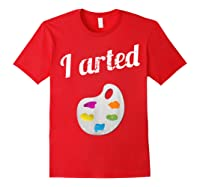 Arted Shirts Red