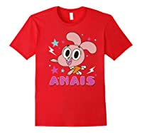 The Amazing World Of Gumball Anais Portrait Shirts Red