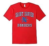 St Xavier High School Bombers C1 Shirts Red