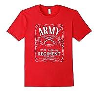 506th Infantry Regi Shirts Red